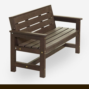 plastic wood benches 2