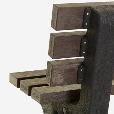 plastic wood bench 19