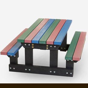 coloured bench 2