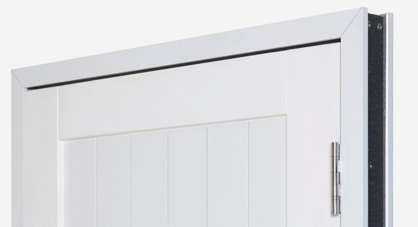 white door 9
