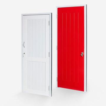 plastic wood doors