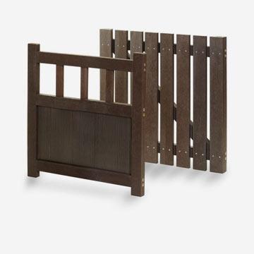 plastic wood gates