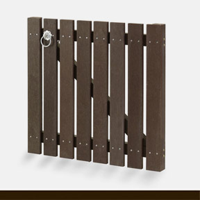 plastic wood gate 39