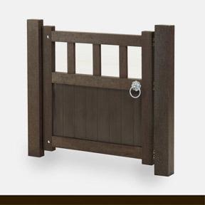 plastic wood gate 38