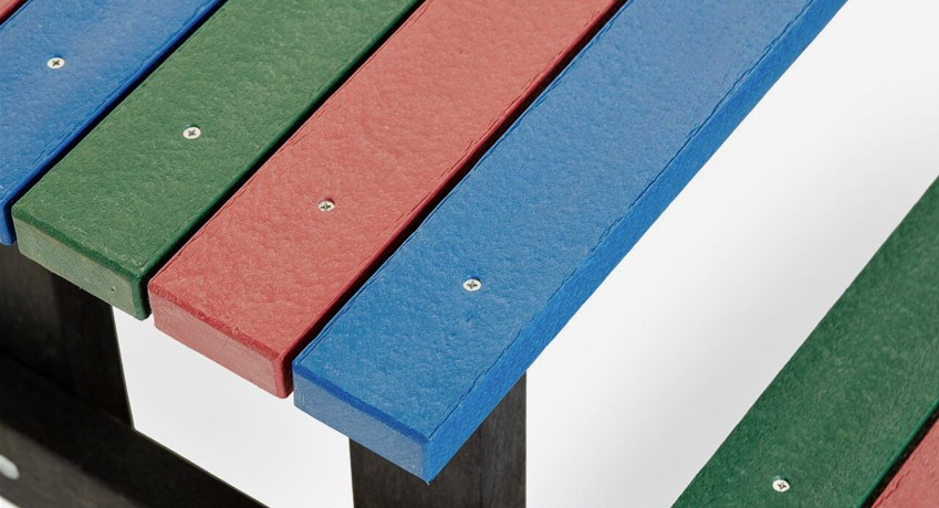 multicoloured furniture
