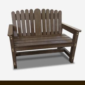 plastic wood bench 13