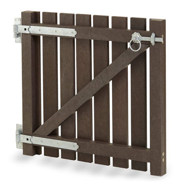 plastic wood gate style 4