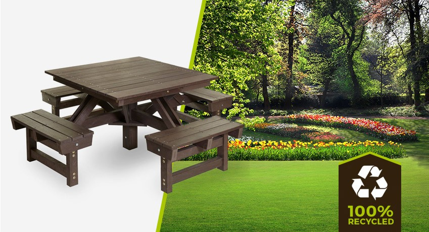 plastic wood table