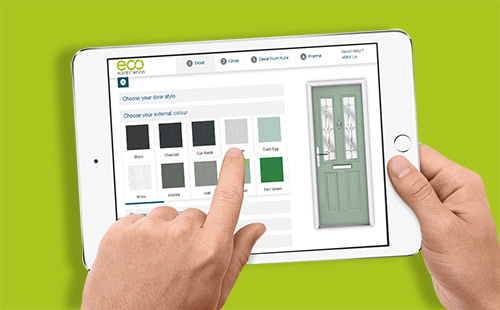 ipad with door designer 2