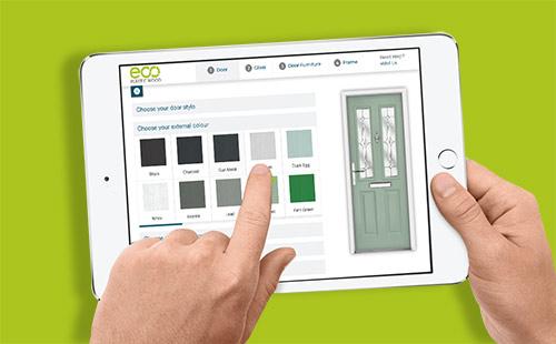 ipad with door designer 2