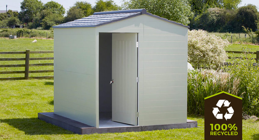 recycled plastic shed 5