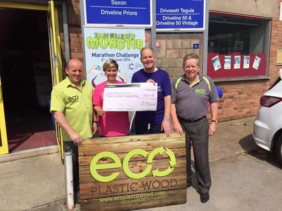 Eco Plastic Wood Charity Donation