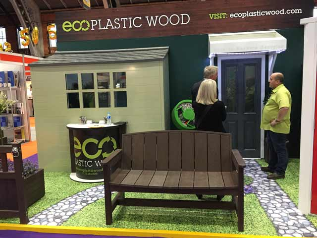 Eco Plastic Wood at Housing 2016
