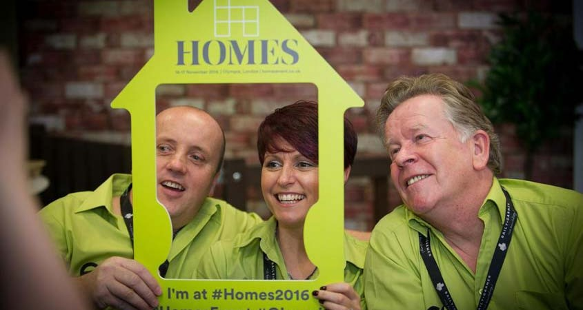 Eco Plastic Wood at Homes 2016
