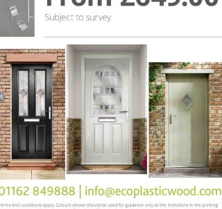 Composite front door promotion