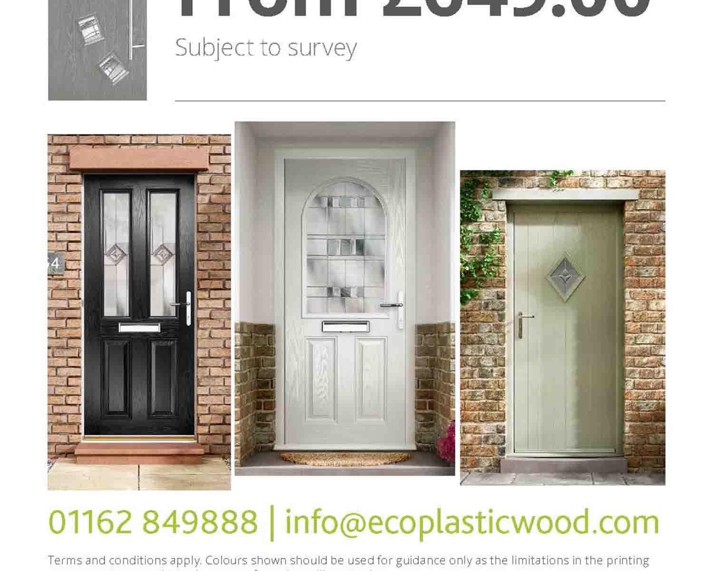 Composite front door promotion