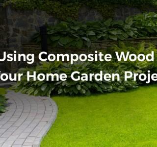 Using Composite wood in the garden